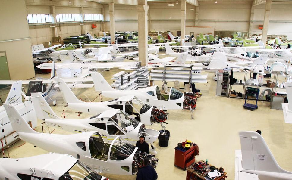 Aviones Tecnam historia
