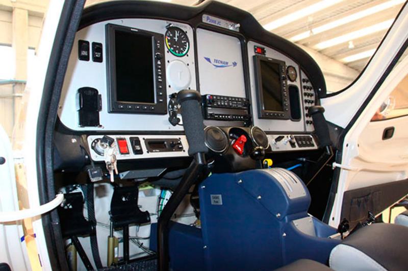 P2008-JC avión Tecnam de la gama CS-VLA.