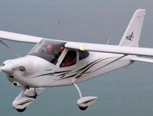 Avión ULM P92-Eaglet de Tecnam.