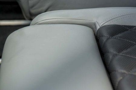 Tecnam P2006T: Asientos de cuero en dos colores